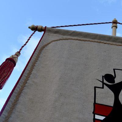 vimpeļi deju kopu karogi