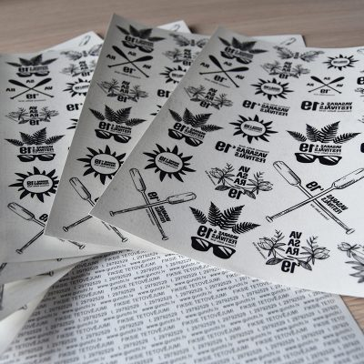 Gunchi fiksie tetovējumi. Temporary custom tattoo