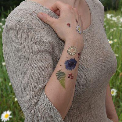 Gunchi īslaicīgie tetovējumi. Temporary tattoo